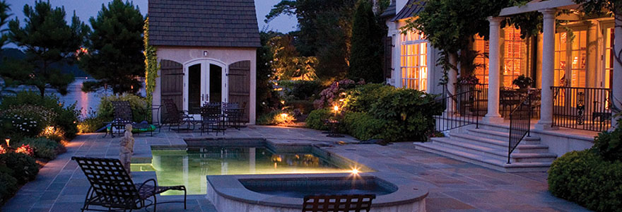 Smart control for outdoor lighting