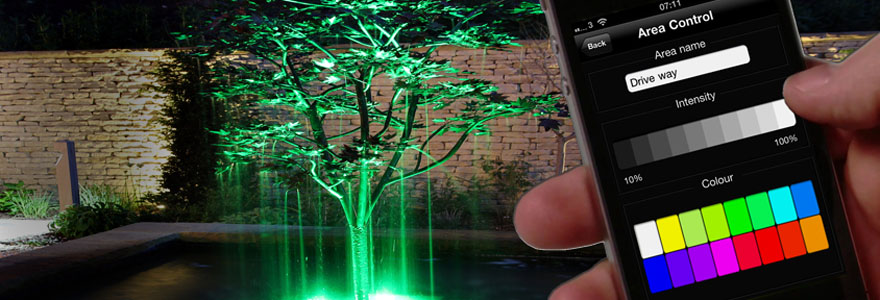 Smart Solutions For Wireless Outdoor Lighting And External